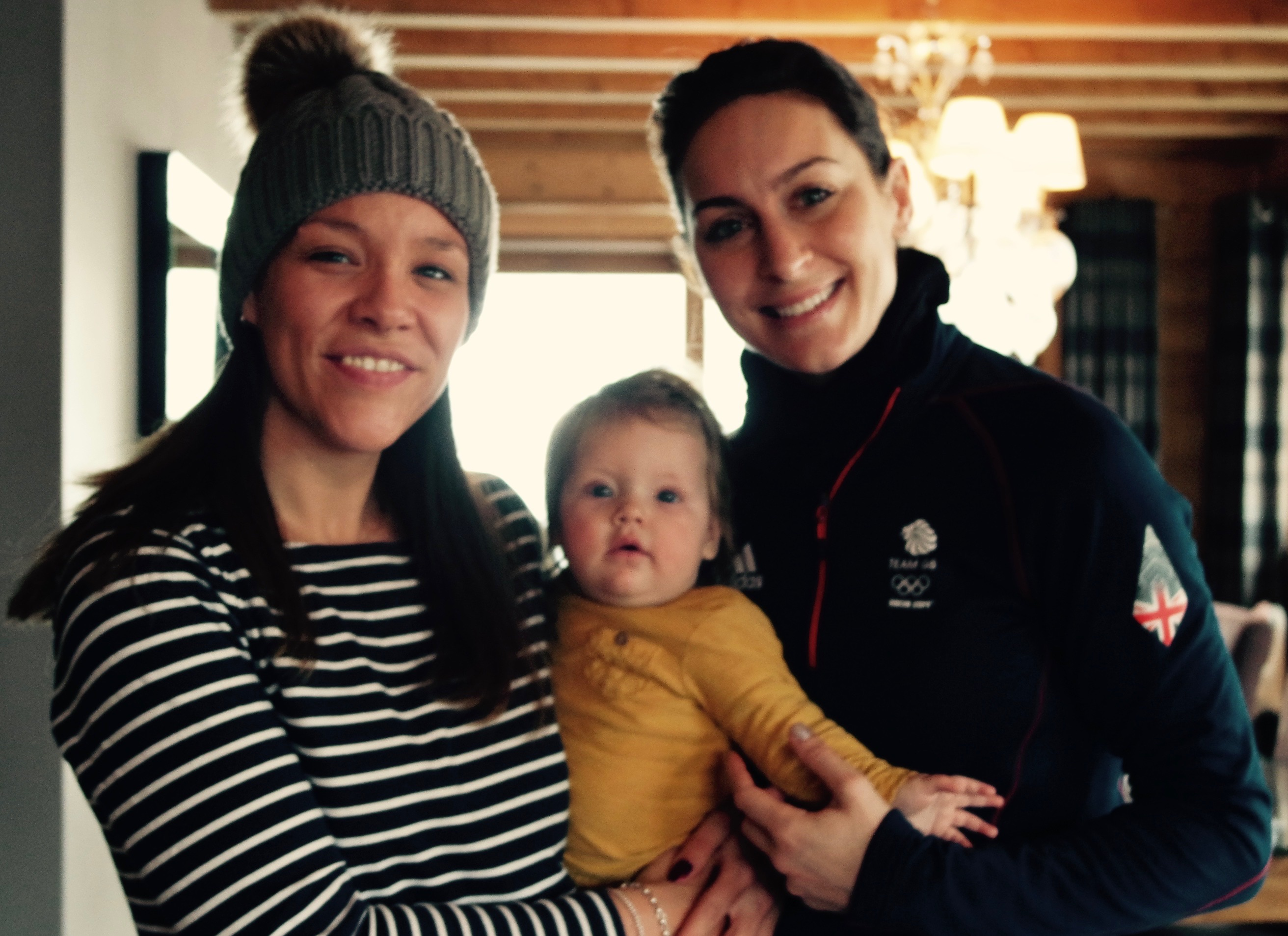Ski Nanny for Amy Williams Olympic Gold Medalist